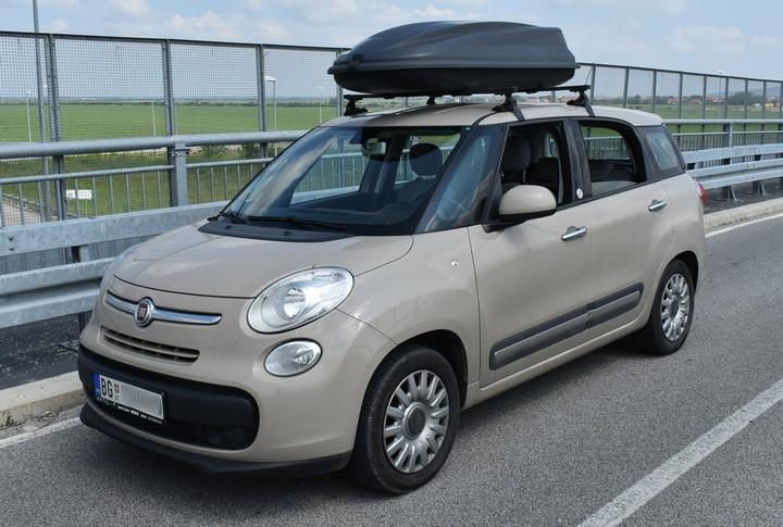 Polovnjak: Fiat 500L Living - urbani miniven sa sedam sedišta