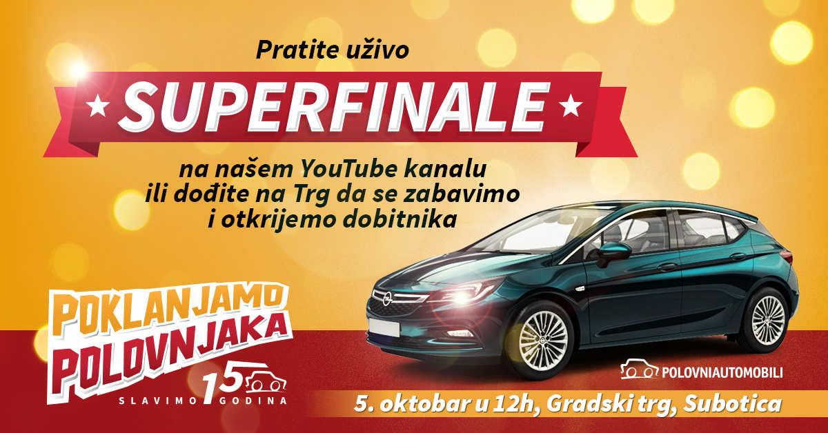 """Superfinalisti konkursa """"Polovnjaci poklanjaju polovnjaka"""""""