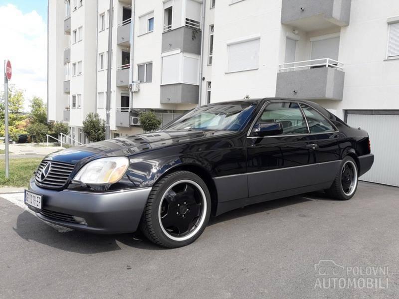 Dijamant automobilske industrije - Mercedes-Benz S500 Coupé