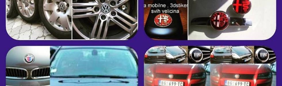 Znakovi za auto - 3d autostikeri