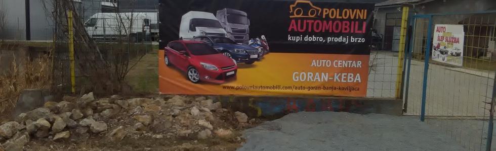 Auto centar GORAN-KEBA