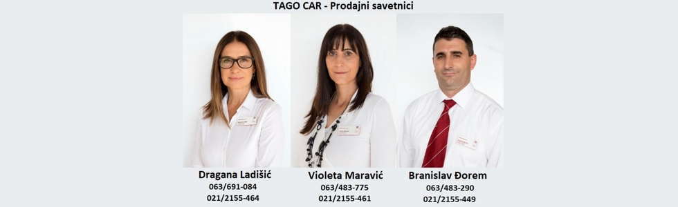 TAGO CAR - TOYOTA NOVI SAD