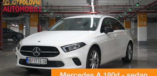 Mercedes-Benz A klasa sedan – najaerodinamičniji automobil na svetu!