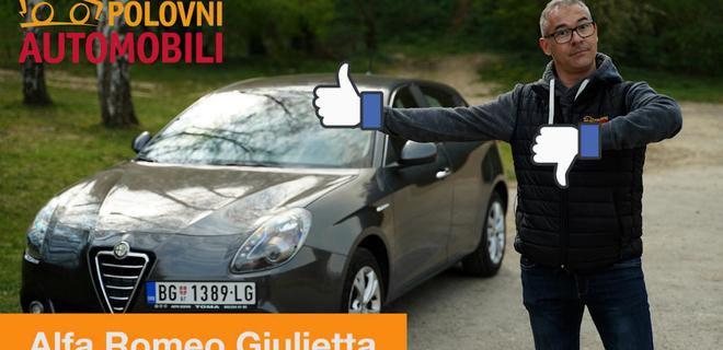 Alfa Romeo Giulietta - ljubav ili mržnja?/najpopularniji vicevi