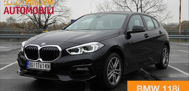 BMW 118i – prednji pogon za najbolju seriju 1 do sada - Autotest