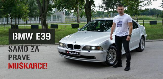 [VIDEO] Serija 5 napravljena za desetku - testirali smo BMW E39