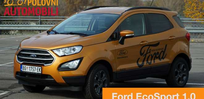 Ford EcoSport - Fiesta na steroidima - Autotest