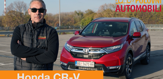 [AUTOTEST] Honda CR-V  - Ima li života bez dizela?