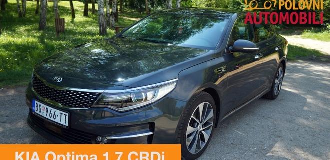 KIA Optima 1.7 CRDi – korejska limuzina – Autotest