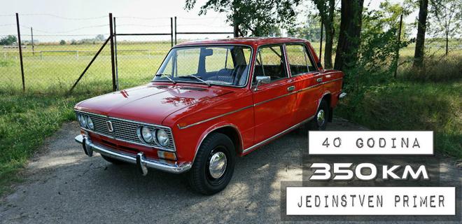 [VIDEO OLDTAJMER] Lada specijal iz 1977, a na satu samo 350 km