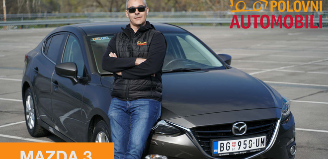 Mazda 3 sedan – gradska katana