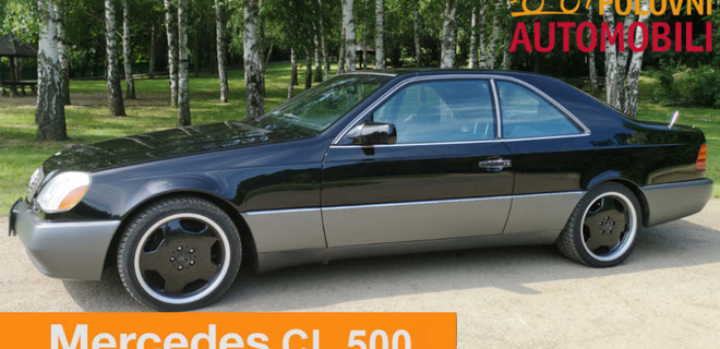Mercedes-Benz CL 500 – dijamant auto industrije - Autotest