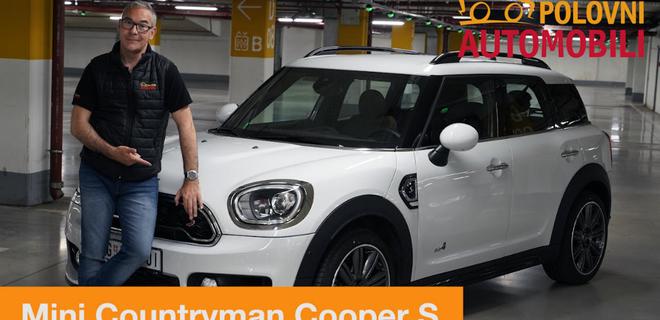 Mini Countryman S – auto za šmekere