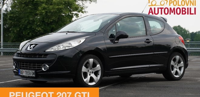Peugeot 207 GTI – Lav sportskog srca – Autotest