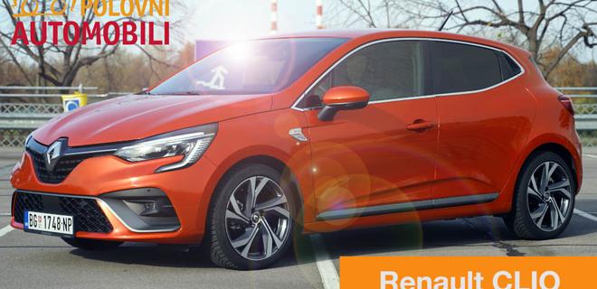 Renault Clio – francuska vatrena pomorandža – Autotest