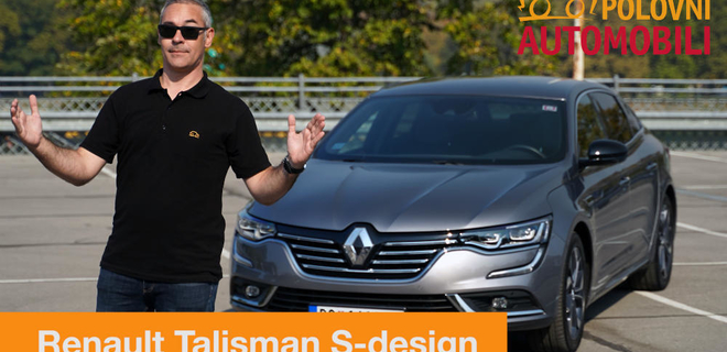 Renault Talisman - francuski dugoprugaš - Autotest