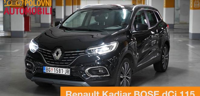 Renault Kadjar - Praktični francuz za celu porodicu