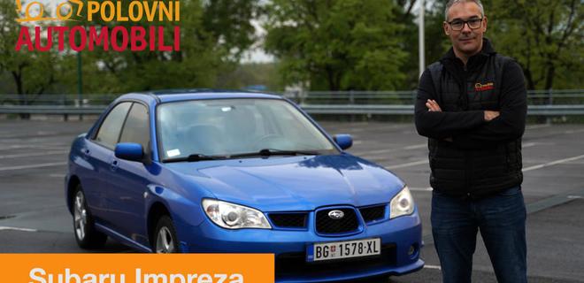 Subaru Impreza – da li biste vozili legendu? - Autotest