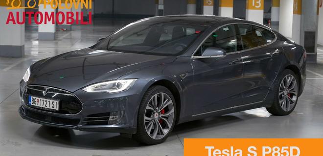Tesla model S P85D  – Autotest