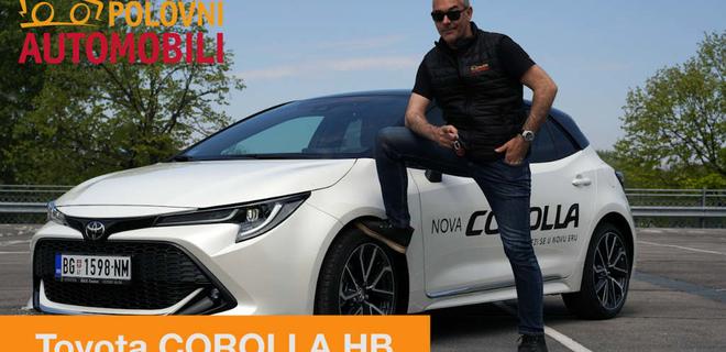 Toyota Corolla HB – novo lice najprodavanijeg automobila
