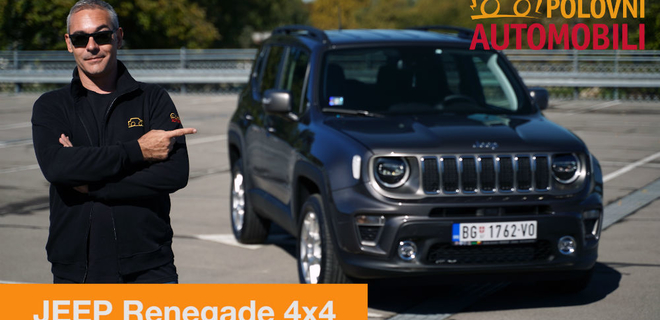 Jeep Renegade – dva lica terenca