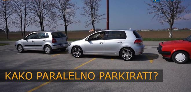 [VIDEO] Paralelno parkiranje