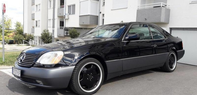 Dijamant automobilske industrije - Mercedes-Benz S500 Coupé