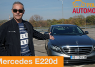 [AUTOTEST] Mercedes Benz 220d - Da li je vozač uopšte neophodan?