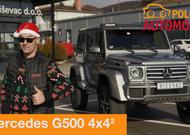 Novogodišnji specijal autotest - Mercedes-Benc G500 4×4²